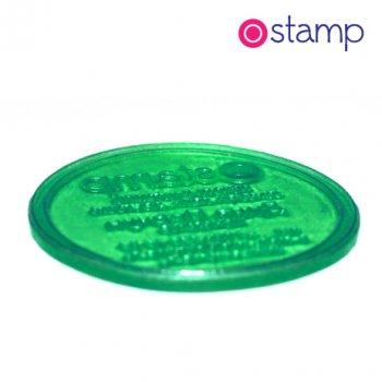 Печать по вашему макету, 40 мм, с ручной пластиковой оснасткой