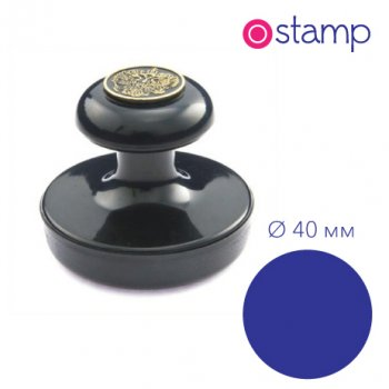 Оснастка для печати диаметр 40 мм, пластик